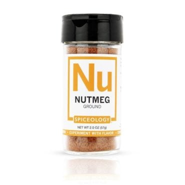 Nutmeg, Ground in 2oz Glass Jar