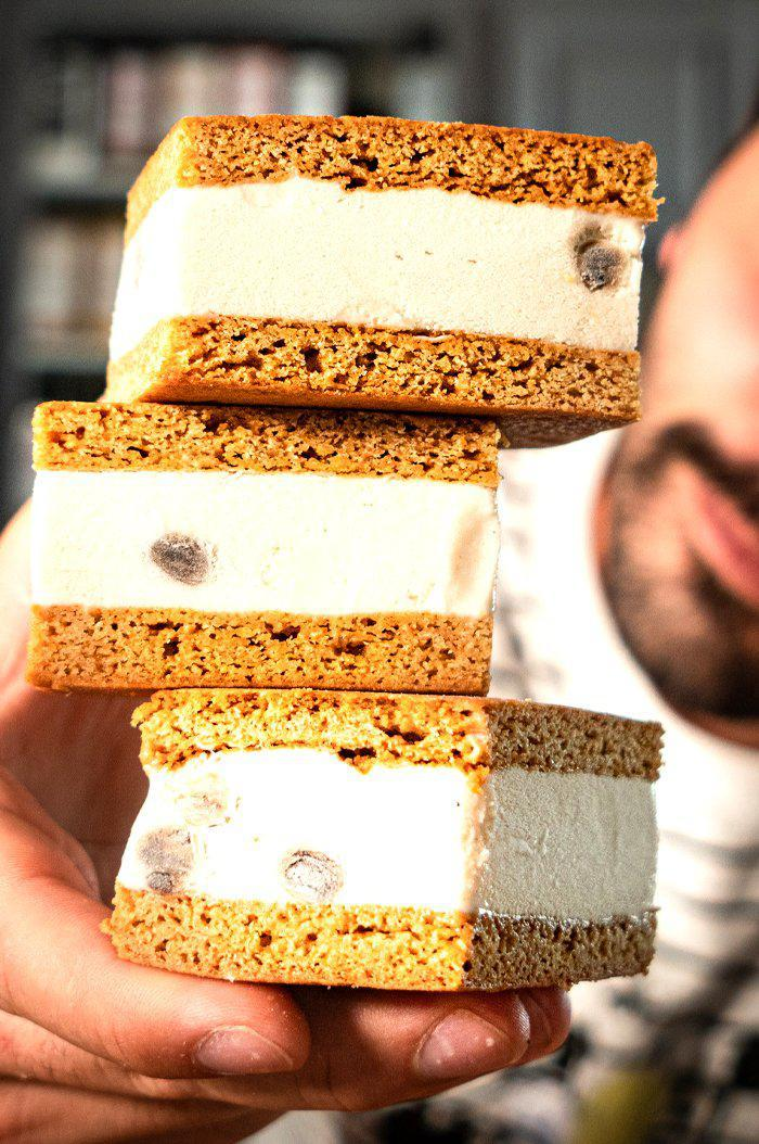 Boba Ice Cream Sandwich