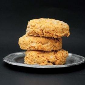 Cheesy cajun buttermilk biscuits