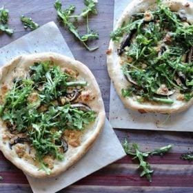 Christie Vanover mushroom pizzas