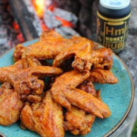 Honey Mustard IPA Fried Chicken Wings