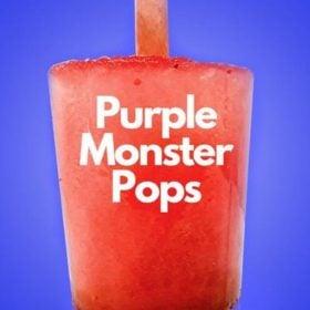 purple monster pop