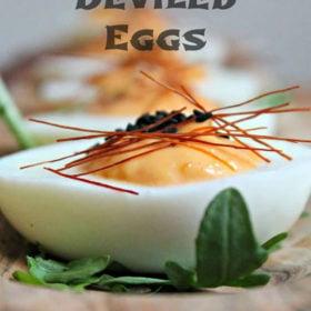 Korean Deviled Eggs
