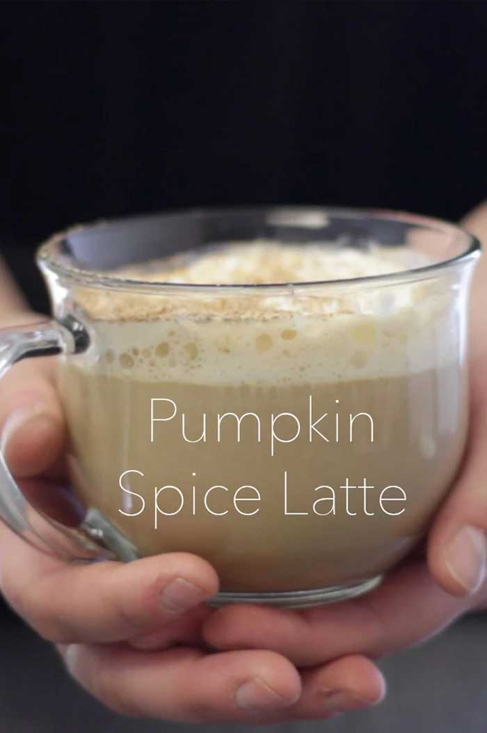 Learn how to make a homemade pumpkin spice latte