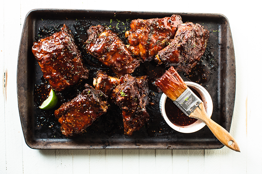 Raspberry Chipotle Baby Back Ribs Recipe
