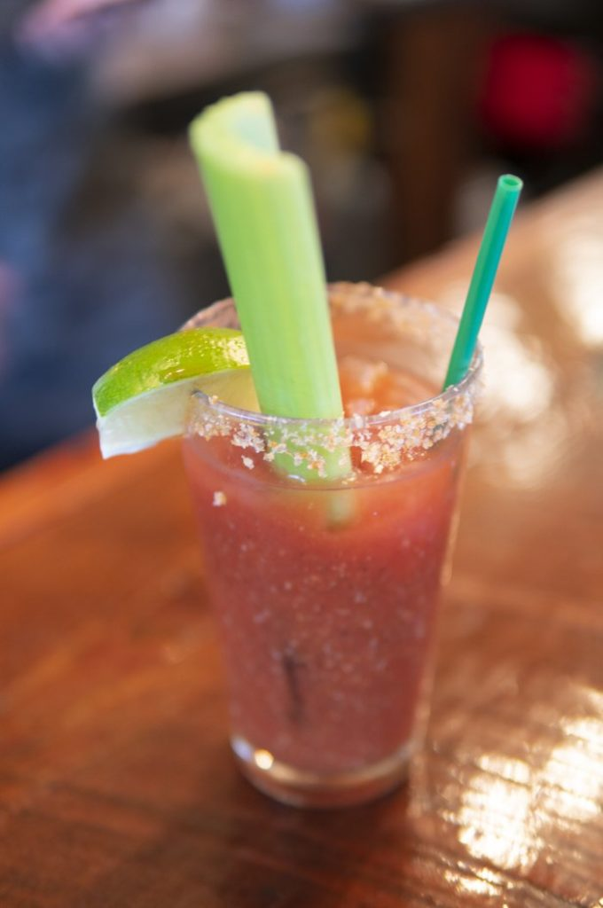 Achiote Bloody Mary Cocktail
