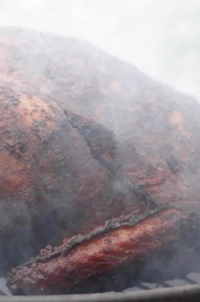 Smoked Cajun Turkey