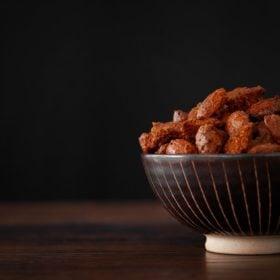 Tandoori roasted almonds
