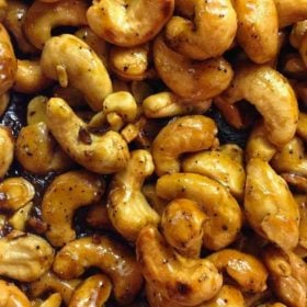 Learn how to make spicy cashews
