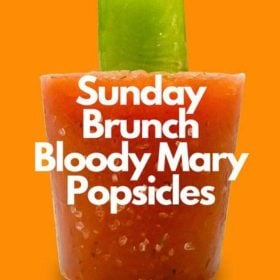 sunday brunch bloody mary popsicle