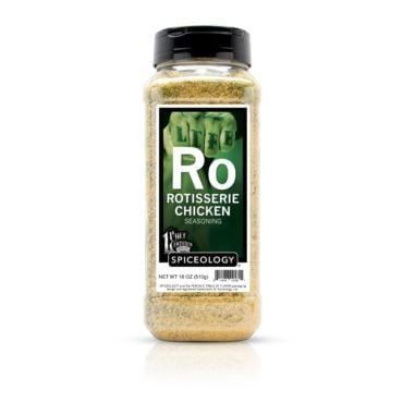 Chef Lawrence Duran Rotisserie Chicken Seasoning in 18oz jar