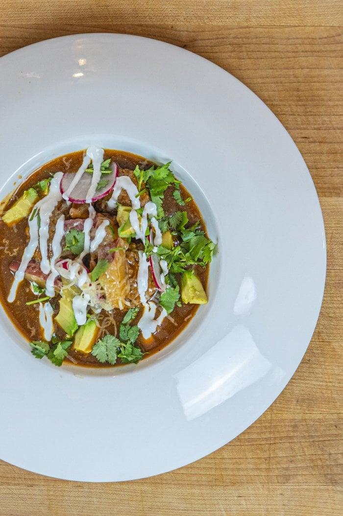 DJ BBQ El Mariachi Mexican Meatball Soup