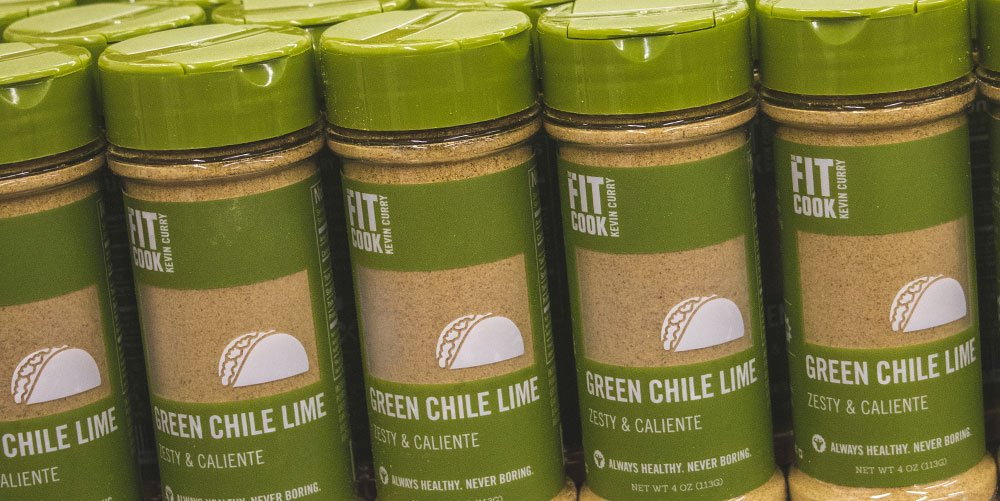 Fit Cooks Green Chile Lime containers