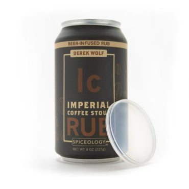 Derek Wolf Imperial Coffee Stout Rub in 8oz can