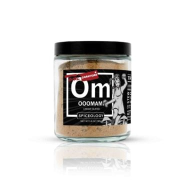 Girl Carnivore umami seasoning in glass jar