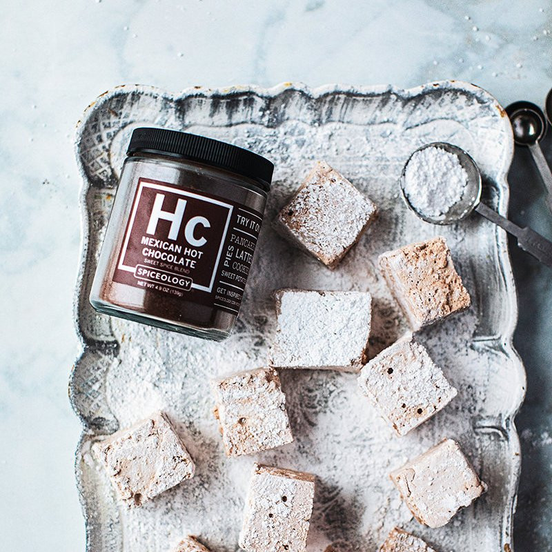 Mexican Hot Chocolate Marshmallows