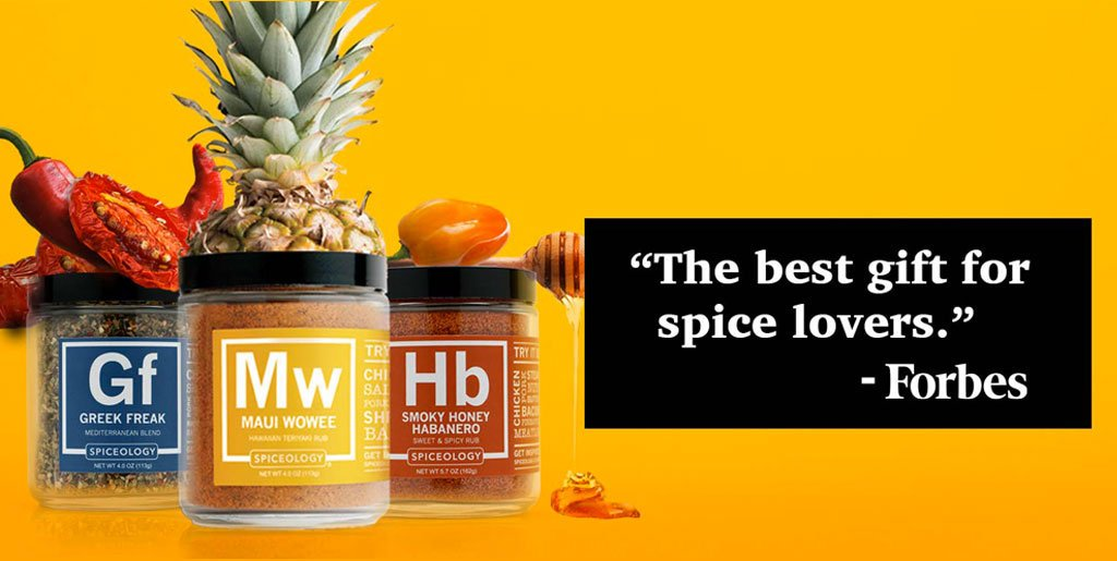 Forbes testimonial: the best gift for spice lovers