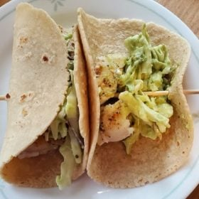 Guac and Roll Avocado Slaw Tacos