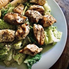 Greek Marinated Chicken Salad