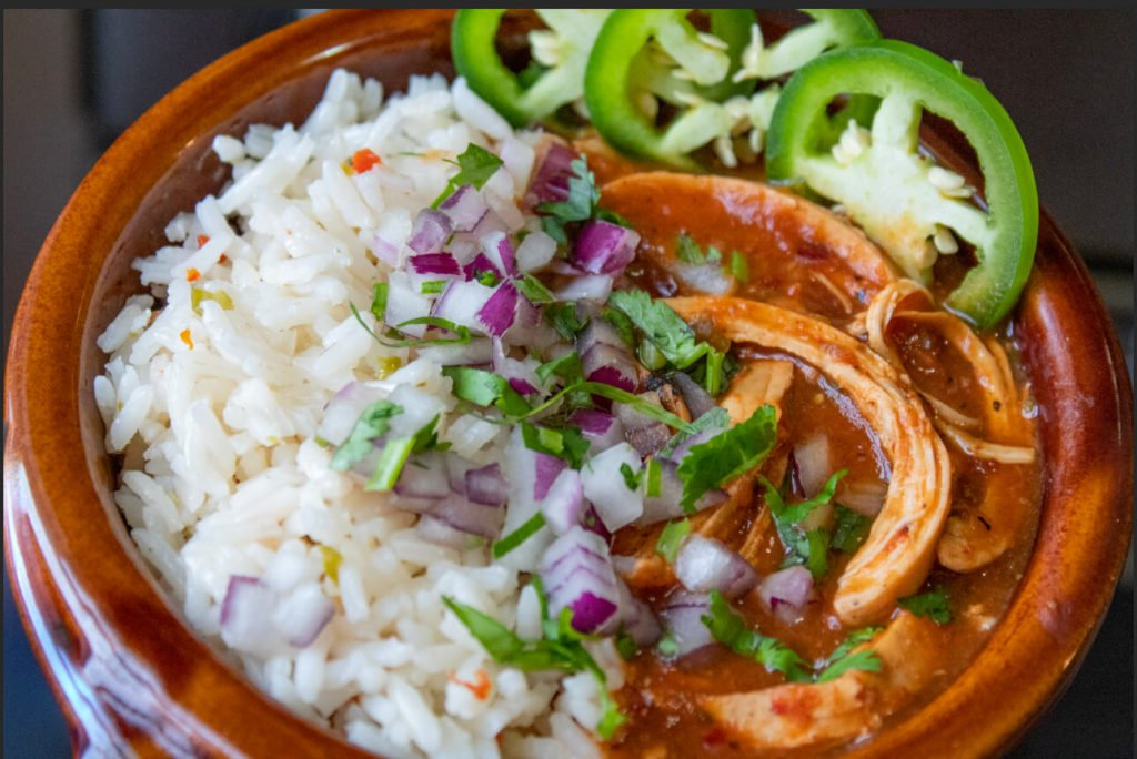 Chipotle Chicken Chili with Rice