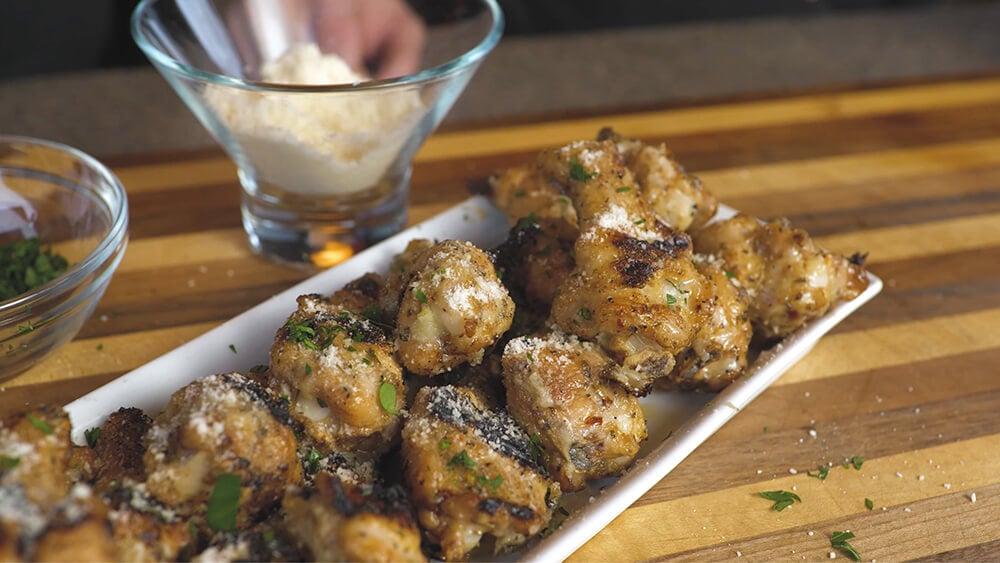 Bada Bing Dry Brined Parmesan Wings