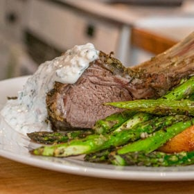 Rosemary Dijon Rack of Lamb