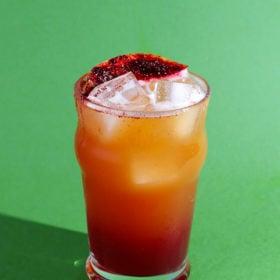 Hibiscus Habanero Shandy Cocktail
