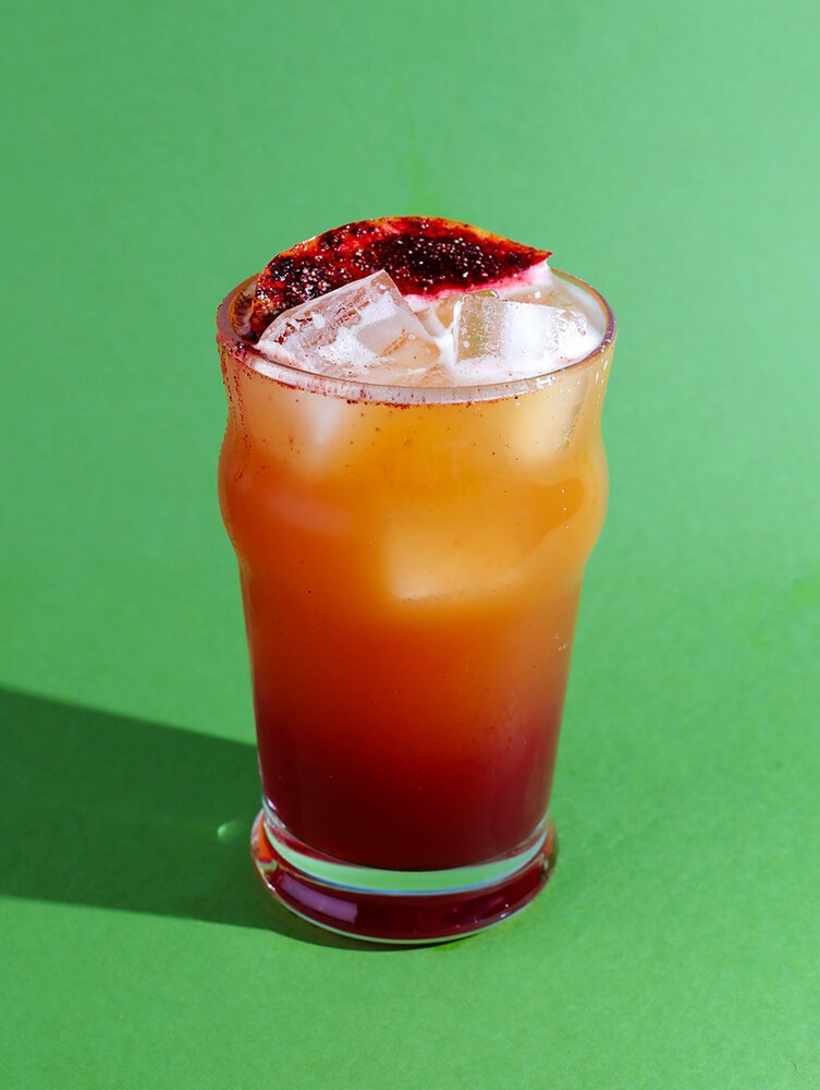This image has an empty alt attribute; its file name is Hibiscus-Habanero-Shandy-Cocktail.jpg