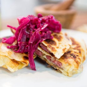 Corned Beef Quesadilla