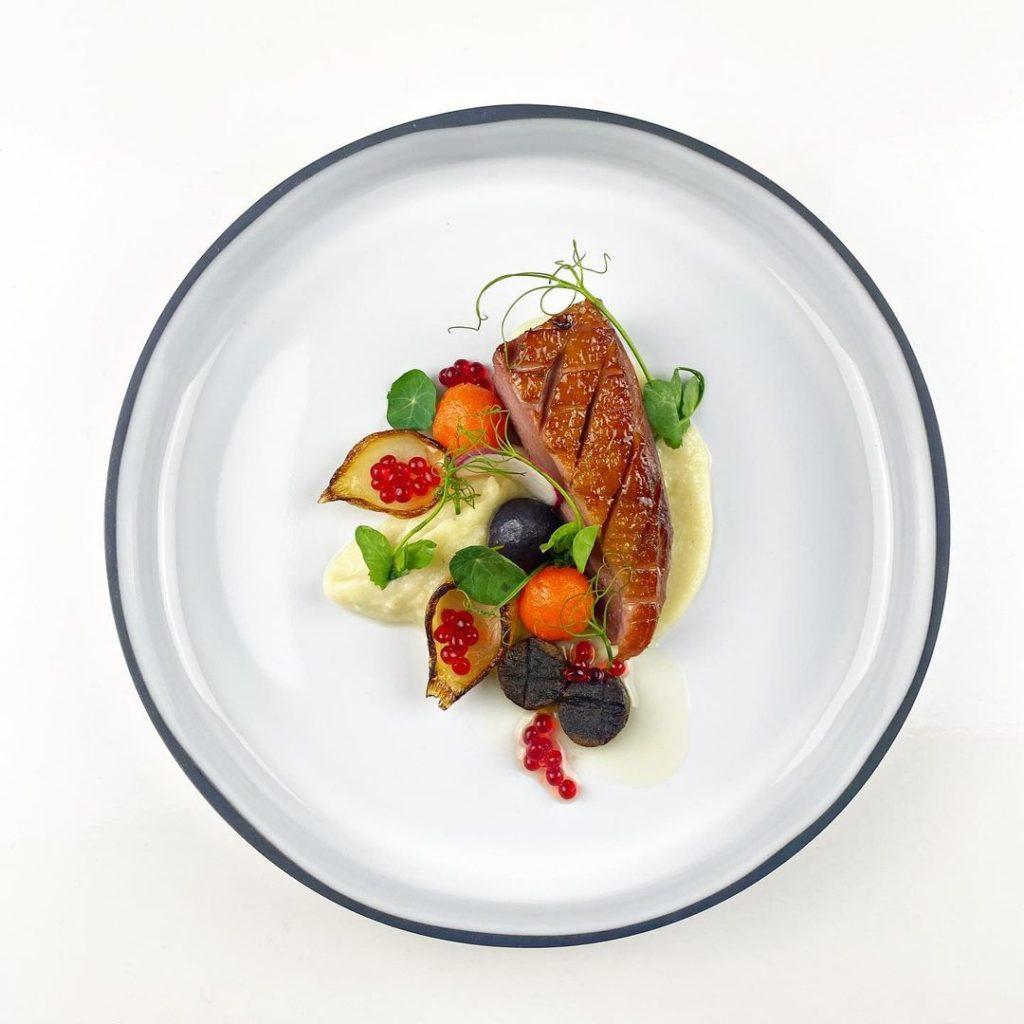 Earl Gray Duck Dish
