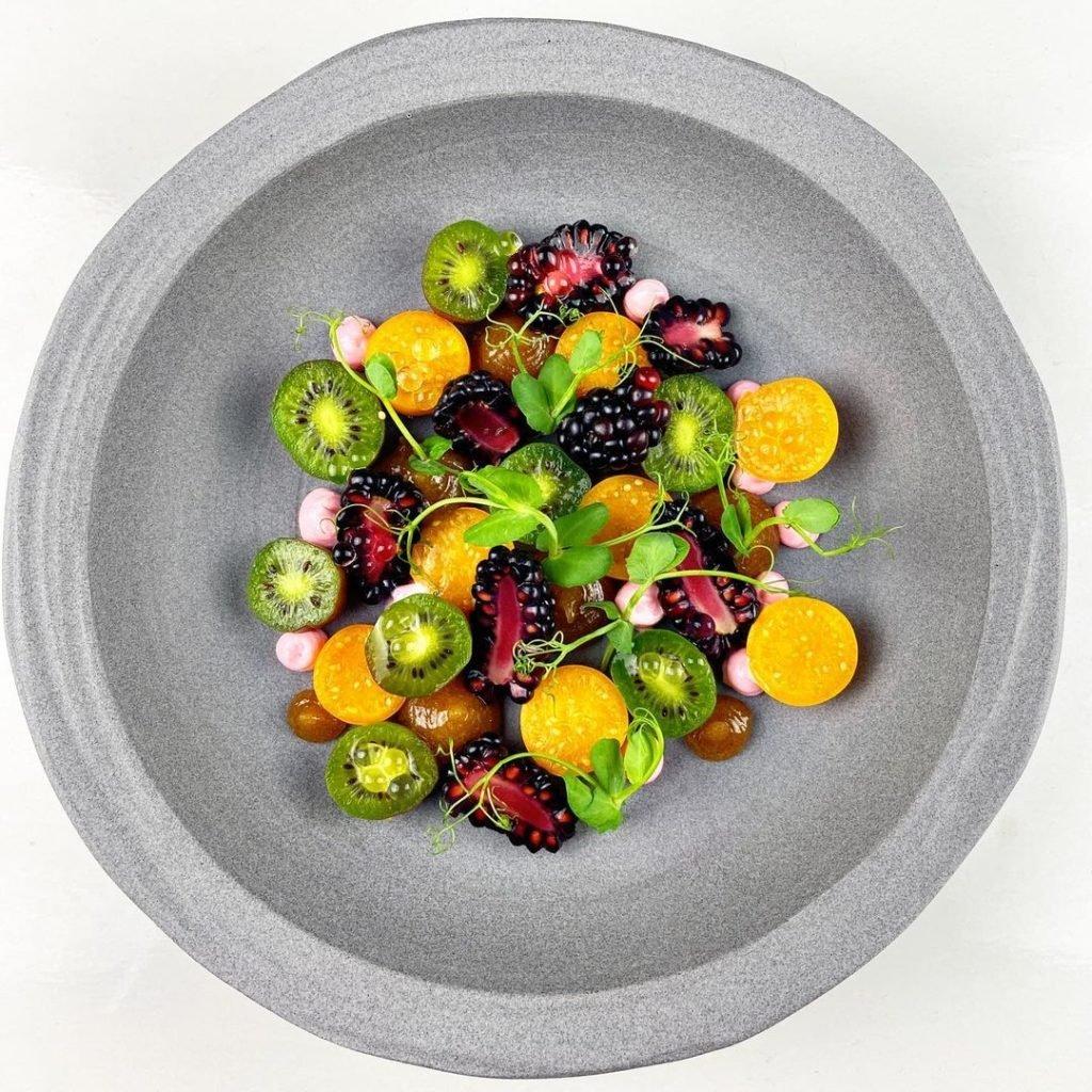 Earl Gray Fruit Salad