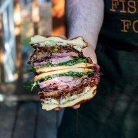 Flavor Hog Ham Sandwich