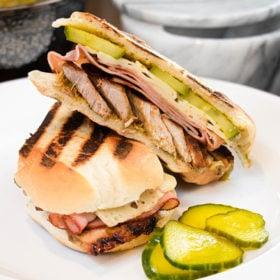 Jerked Pork Cuban Sandwich