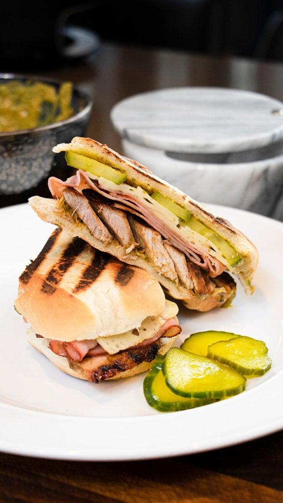 Jerked Pork Cuban Sandwich recipe