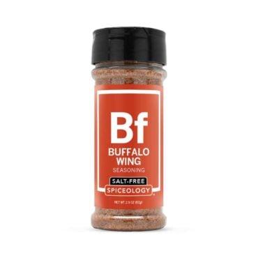 Buffalo Wing salt-free seasoning in small jar
