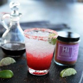 Hibiscus Habanero Margarita