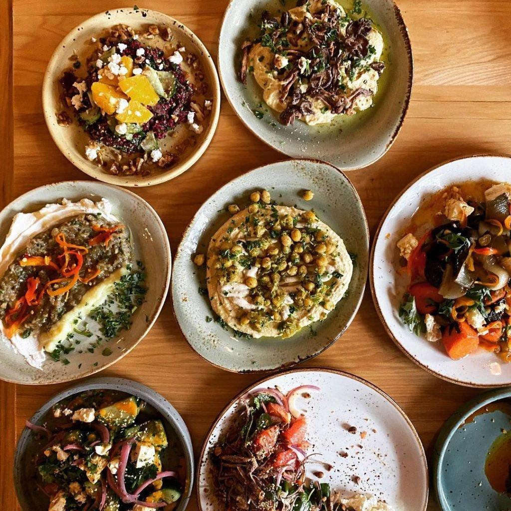Baba Spokane food plates