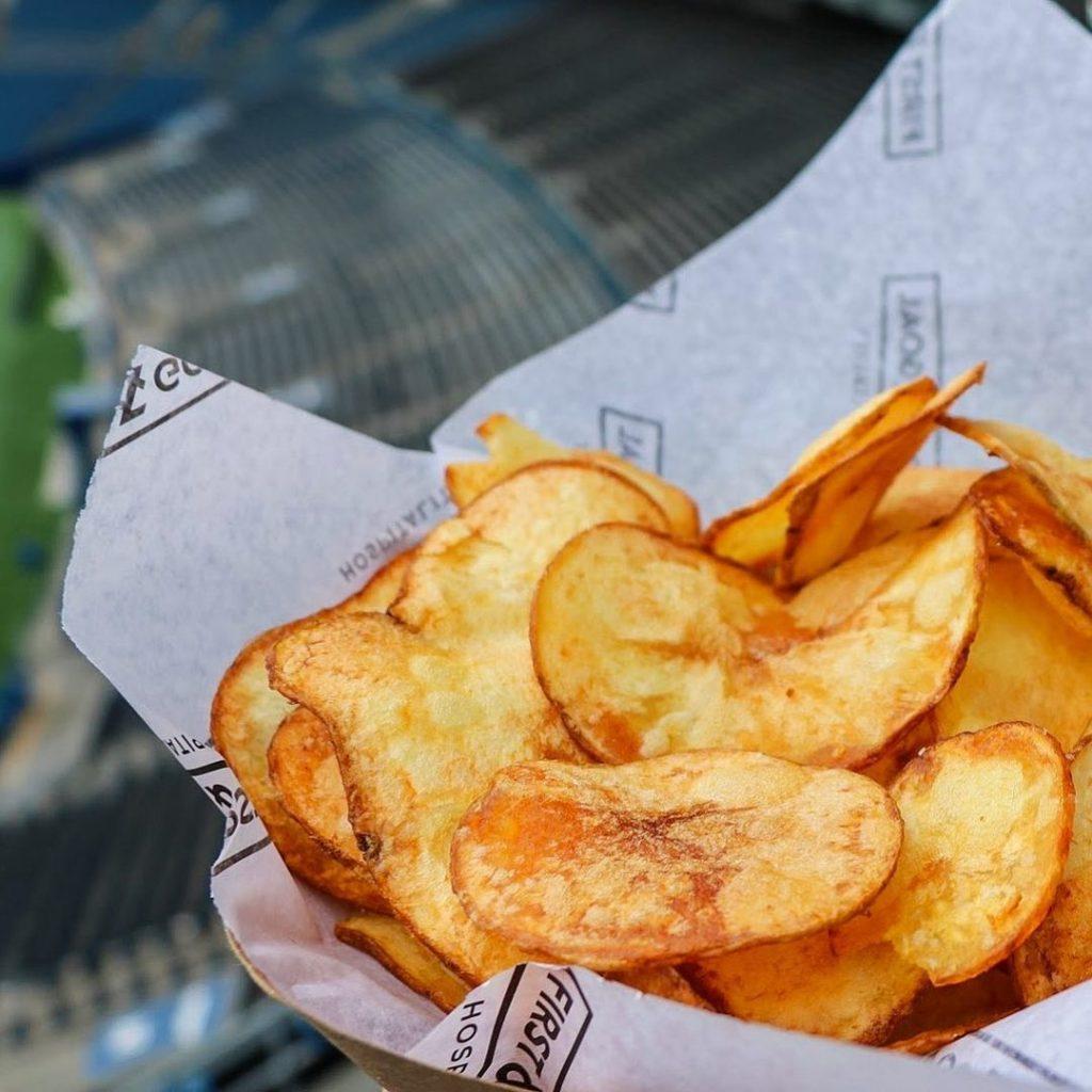 Basket of chips at Lumen Field